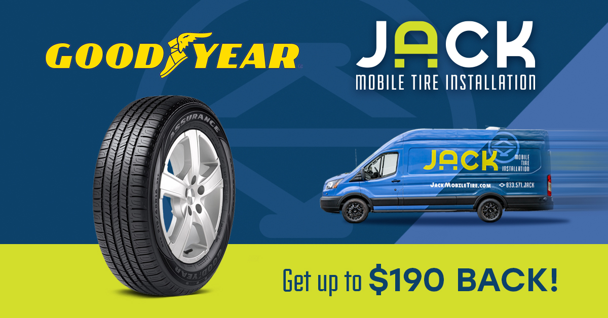 Exclusive JACK Mobile Goodyear Sale